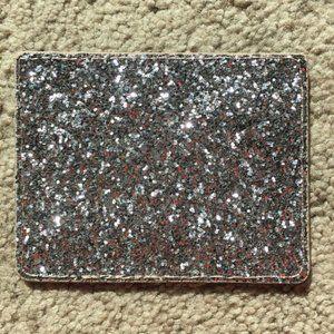 Kate Spade glitter wallet credit card holder